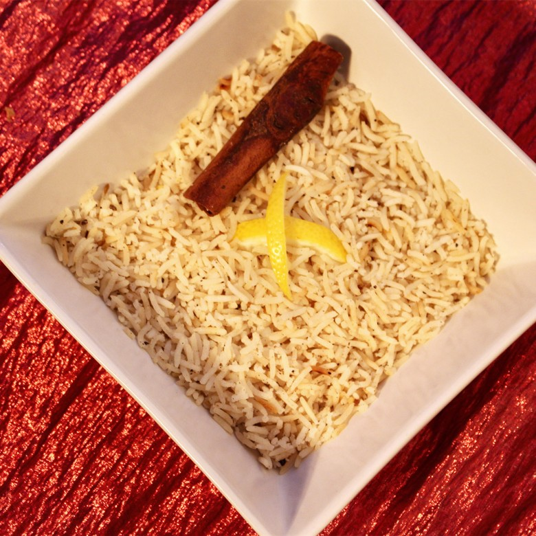 """You Shook Me All Night Long"" Cardamom & Coconut Infused Basmati Rice"