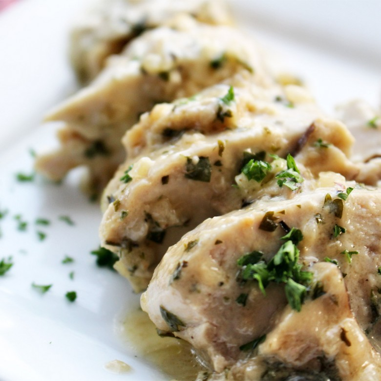 """Have You Figured Out Your Calling in Life?"" Chicken Breasts in a White Wine Sherry Cream Sauce"