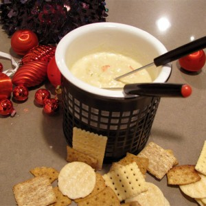 """Creed"" Simply The Best Crab Dip with Warm Crostini"