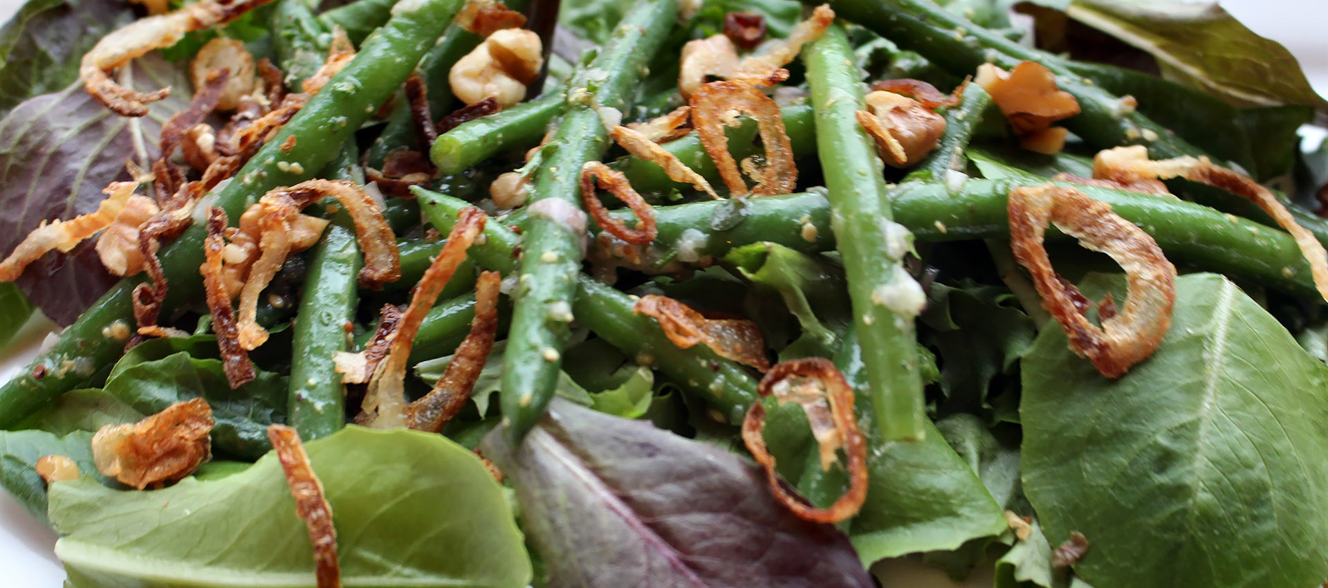 "... Need"" Crisp French Green Beans with Crisp Shallots « Gourmet Safari"