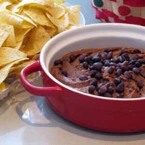 Spicy Black Bean Hummus Dip