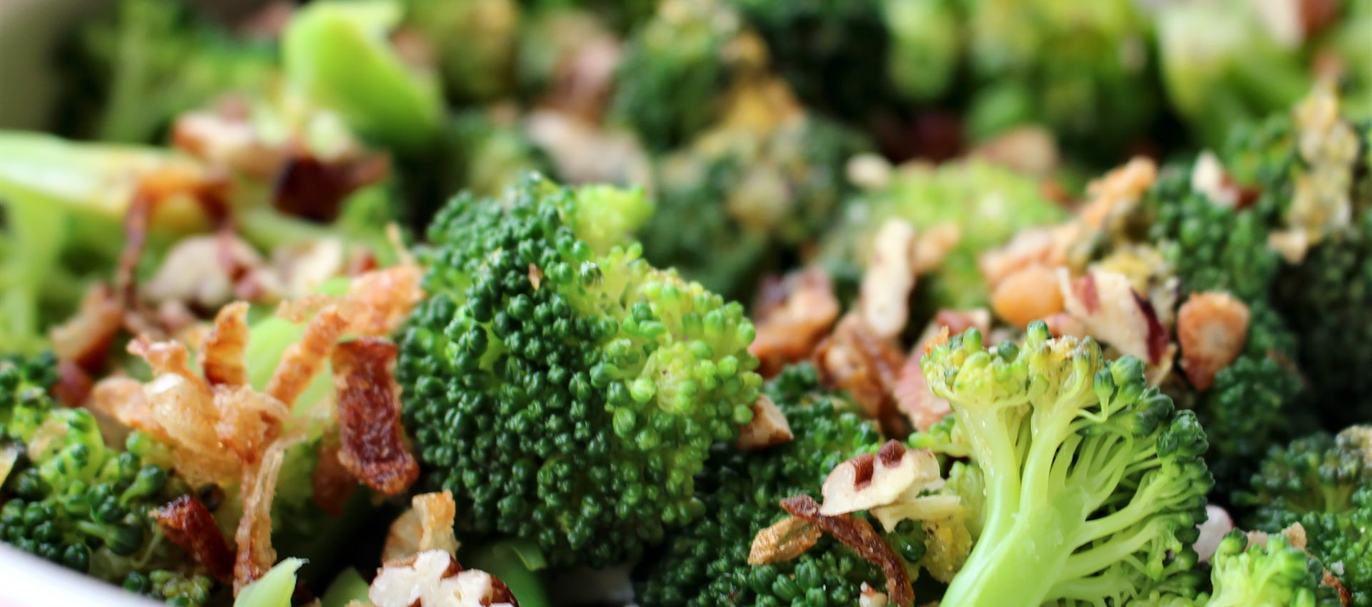 Warm Broccoli with Caramelized Shallots in a Lemon Garlic Dressing ...