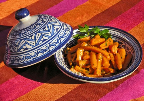 """Spanish Fly"" Lemony Carrots with Chili Pepper & Cumin"