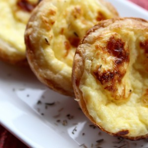 """Put a Little Love in Your Heart"" Julia Child's Cheese Tartlets"