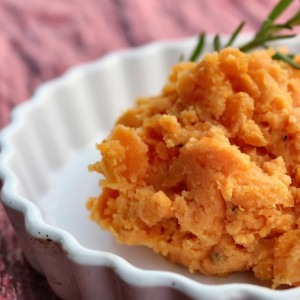 """Kiss And Tell"" Maple Whipped Sweet Potatoes"