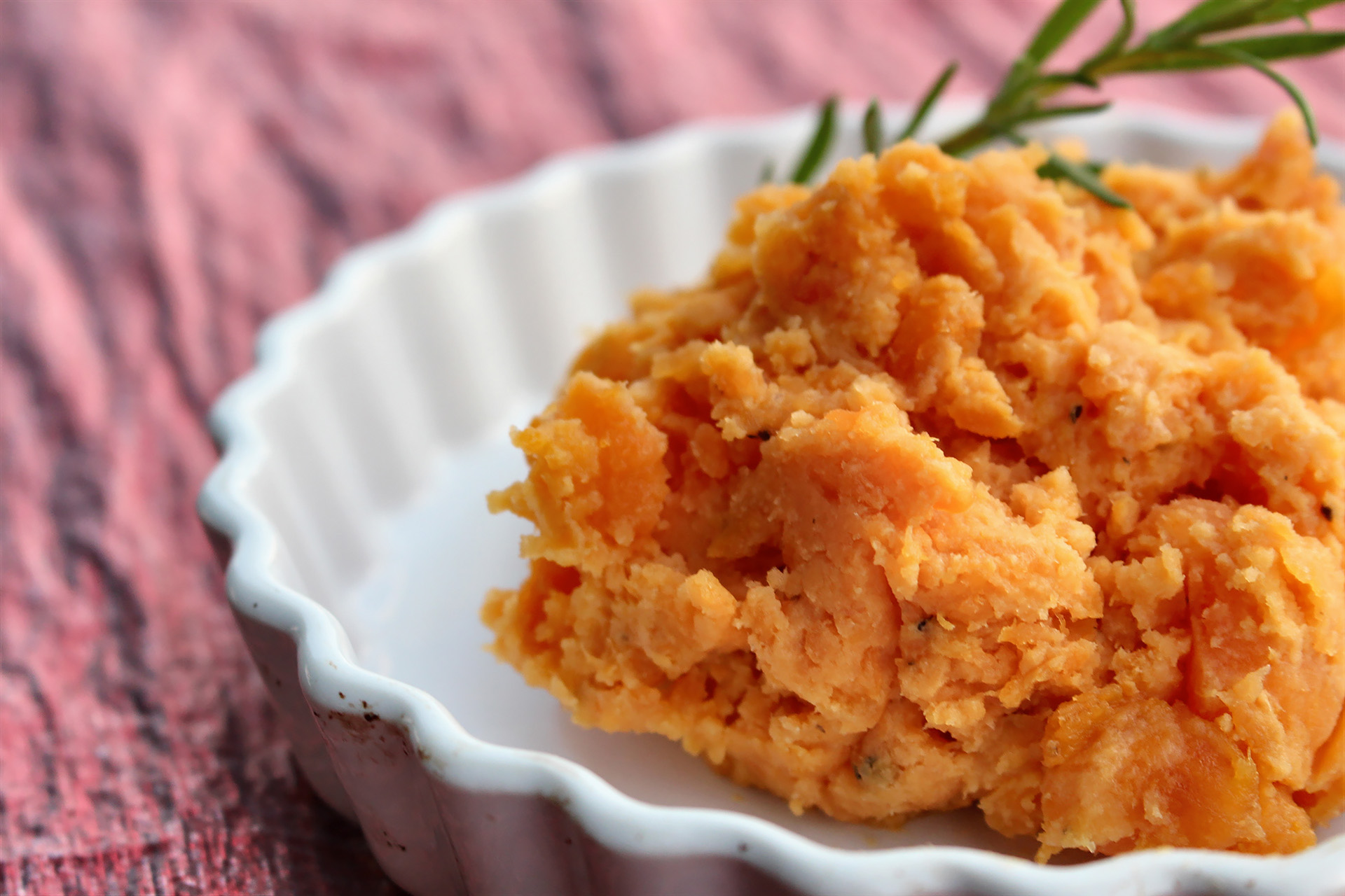 kiss and tell maple whipped sweet potatoes