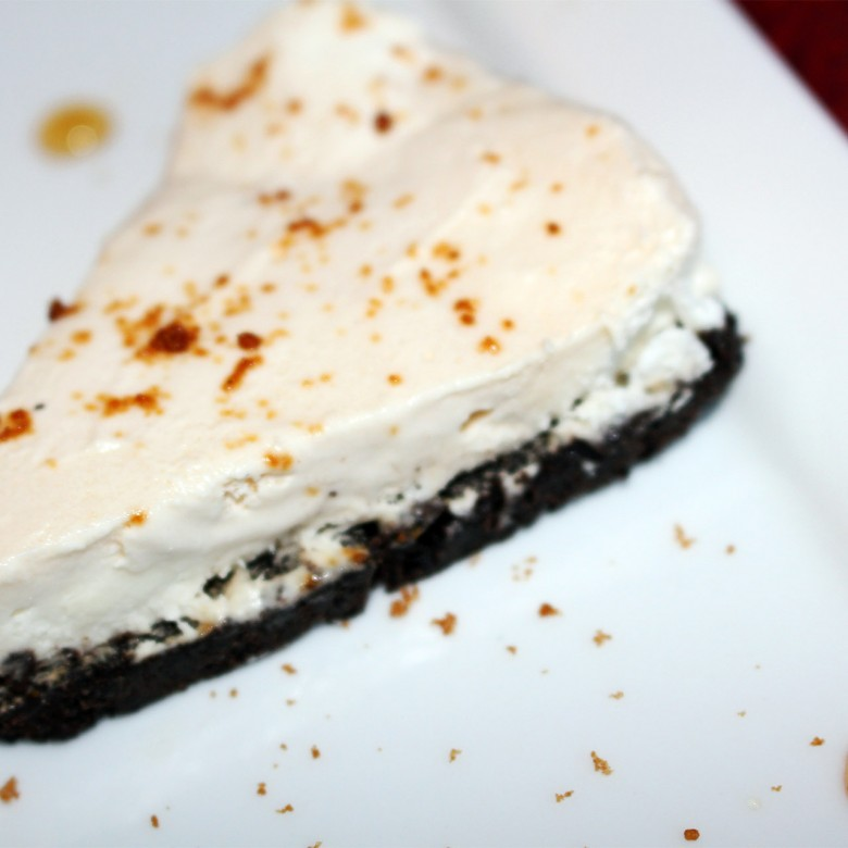 """You Took the Words Right Out of My Mouth, Must Have Been When You Were Kissing Me"" Frozen Maple-Mousse Pie (""My Lips Are Sealed"" Whipped Cream On The Side!)"