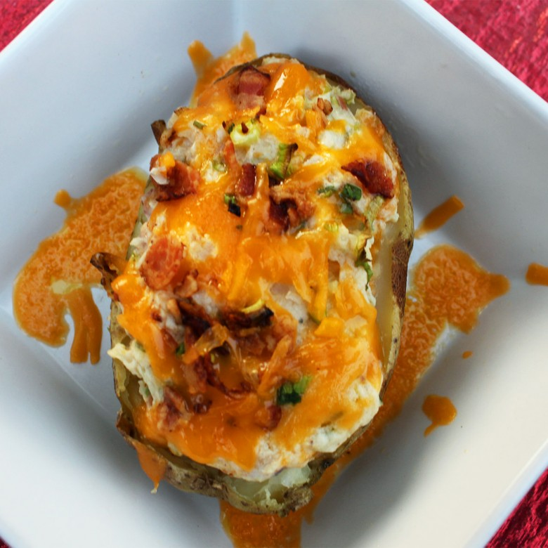 """What's in Your Fridge?"" Ultimate Twice Baked Potatoes"