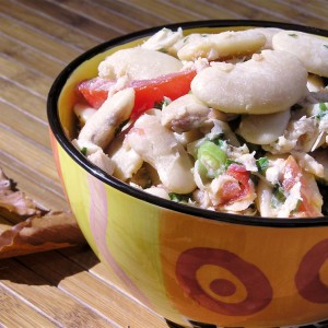 Tuscan Bean Salad with Tuna