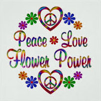 Peace Love Flower Power