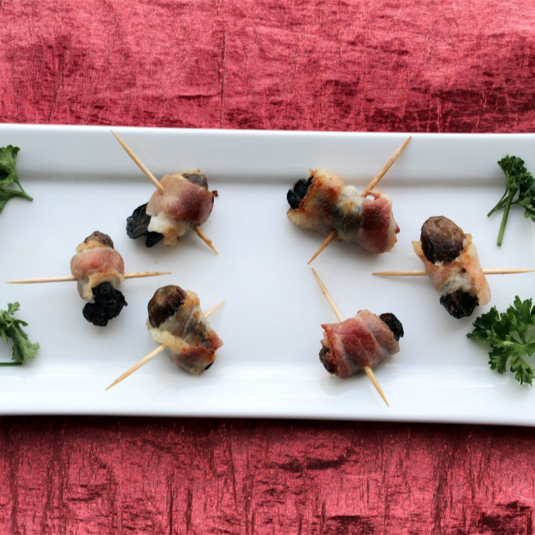 """How Much Do You Make?"" Bacon Wrapped Smoked Oysters"