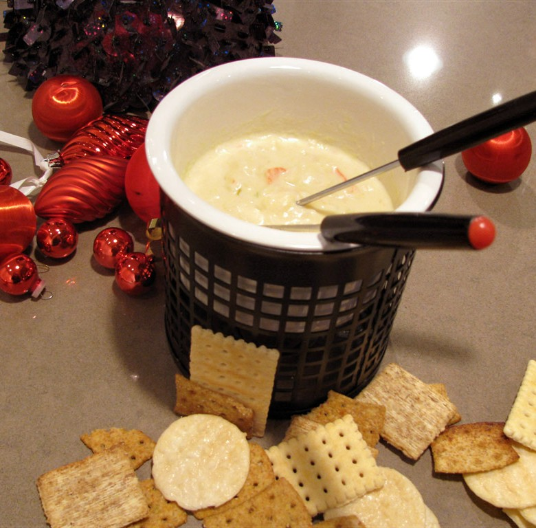 """""""Creed"""" Simply The Best Crab Dip with Warm Crostini"""