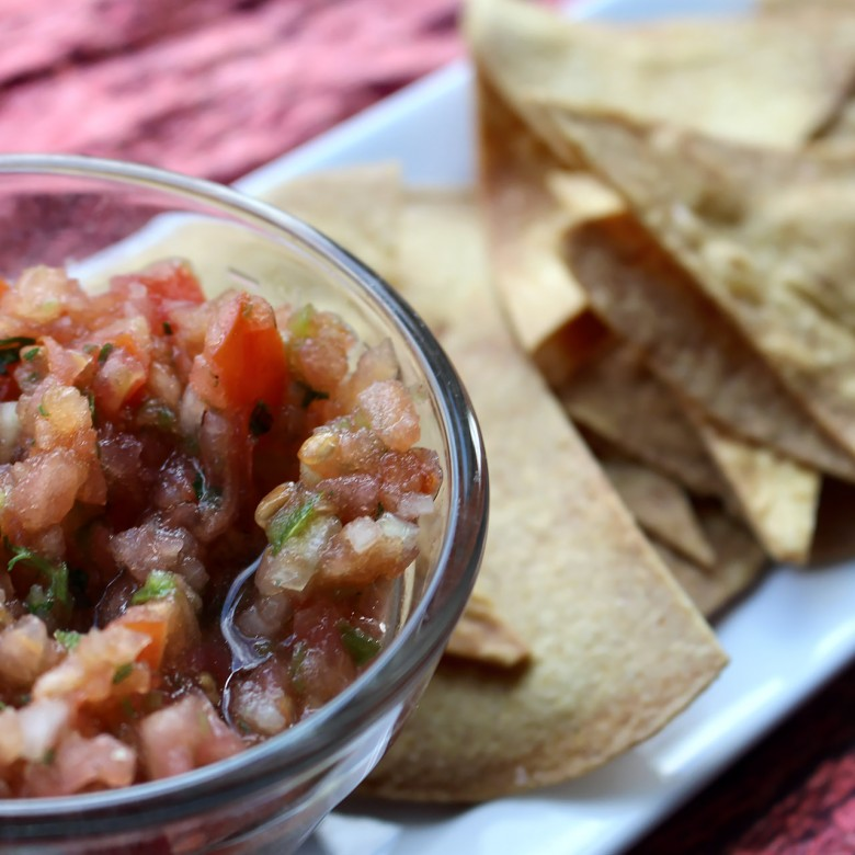 """Man Up"" Authentic Mexican Salsa with Toasted Tortilla Chips"