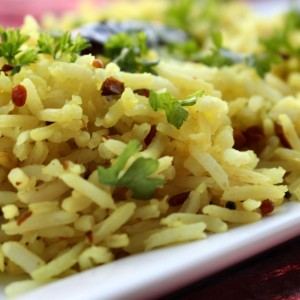 """""""It's My Life, My Journey, The World is My Oyster"""" Lemon Pulao/Rice"""