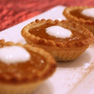 """No No No No Don't Funk With My Heart"" Home-Style Pumpkin Tarts with Whipped Molasses Cream"