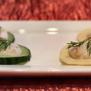 """""""To Serve With Love"""" Smoked Salmon Mousse Pate"""