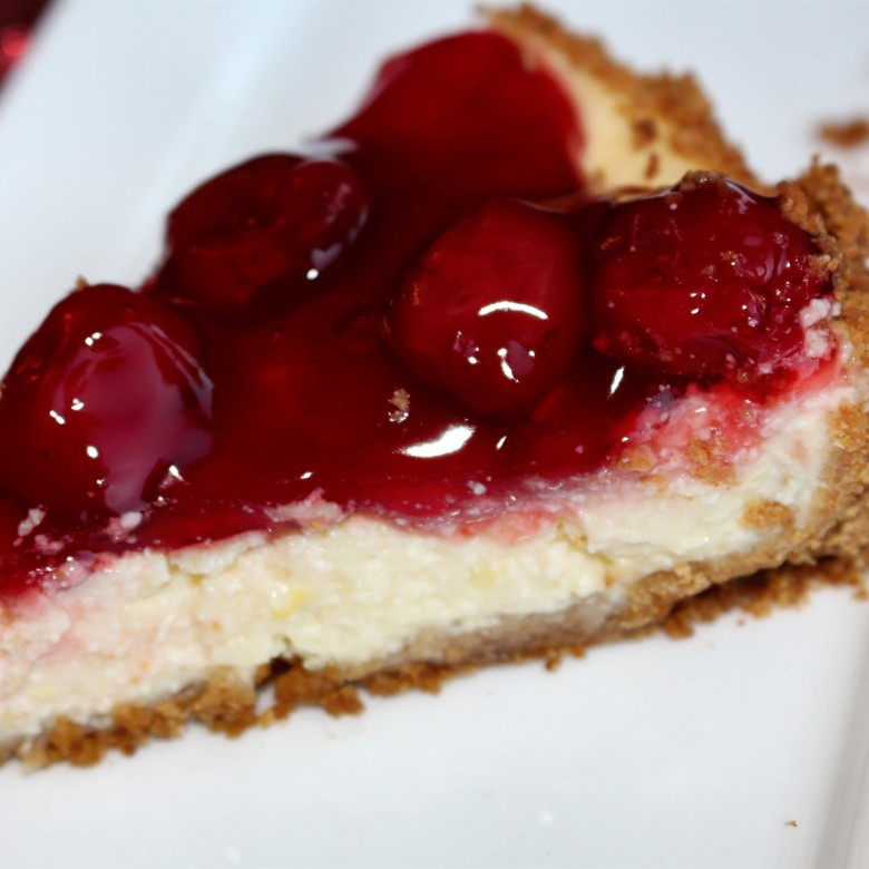 """Sweet as Pie (Make That Cake)"" Cherry Cheesecake"