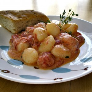 """He Looked Better on Facebook"" Hand-made Mount Pleasant Gnocchi"