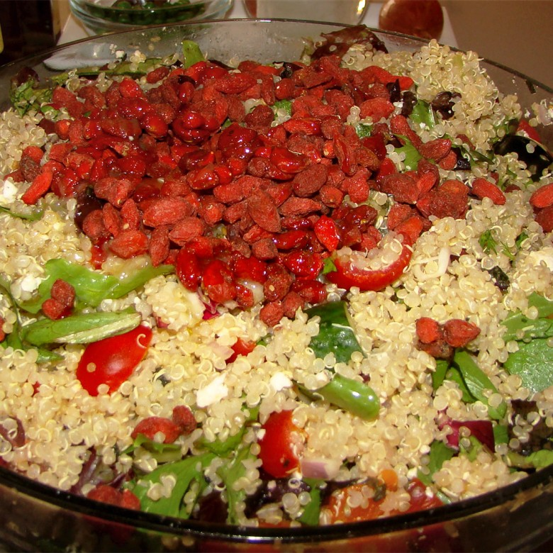 Quinoa and Goji Berry Salad
