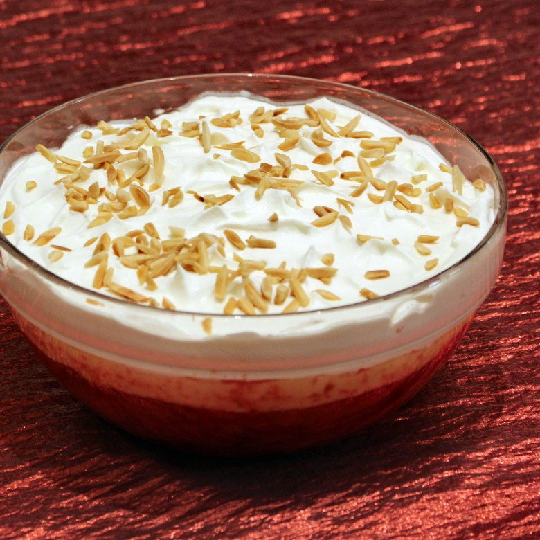 """Winter Wonderland"" – My Grandmother's Delicious English Trifle"