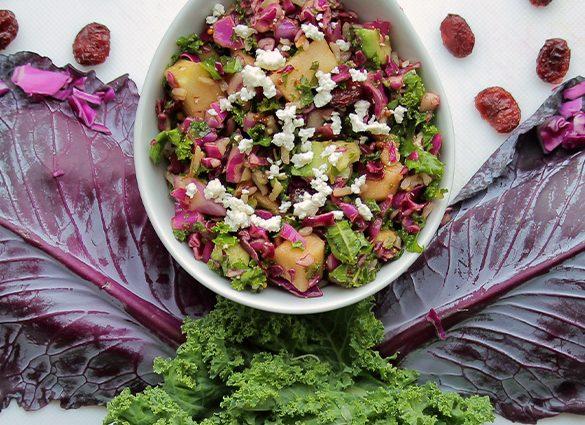 Clarity Kale, Brown Rice & Avocado Medley.