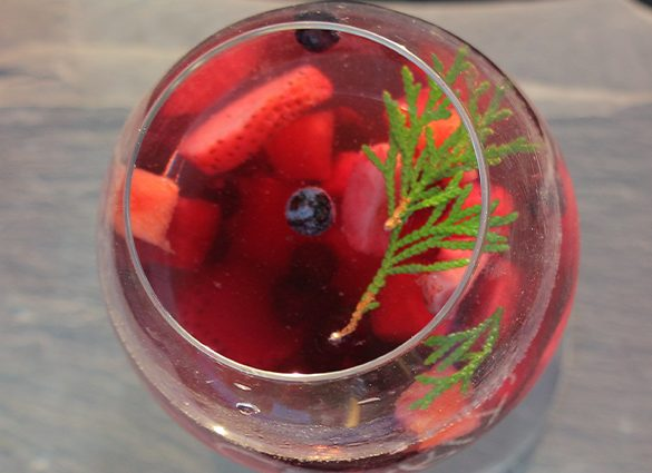 Clarity Strawberry Watermelon Rosemary Infused Water.