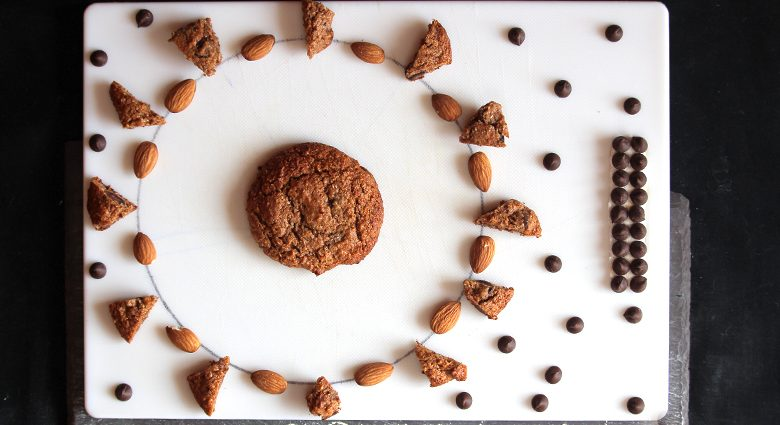 Electrify Almond Butter Maca Chocolate Energy Cookies.