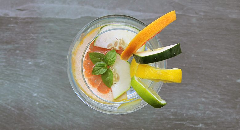 Electrify Citrus 'Spa' Infused Water.