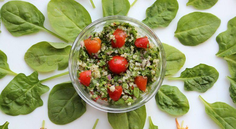 Electrify Fresh Lebanese Tabbouleh/Mint Parsley Salad.