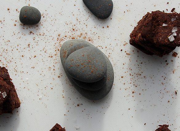 Kick Back Flourless Sea Salt Decadent Chocolate Bites.