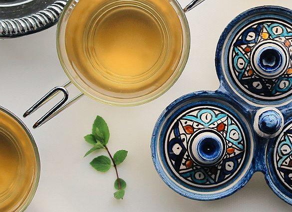 Conscious Fresh Mint Tea Tonic.