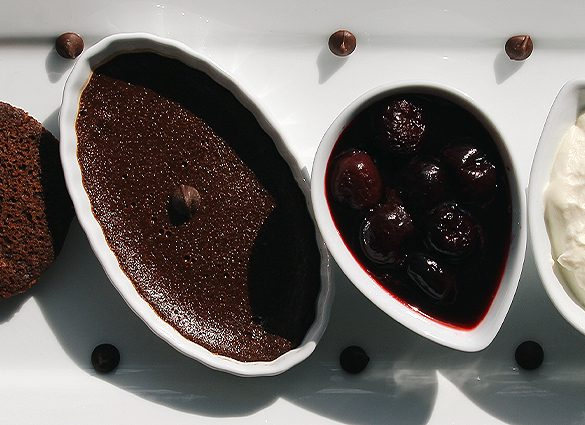 Conscious Deconstructed Decadent Black Forest Cake.