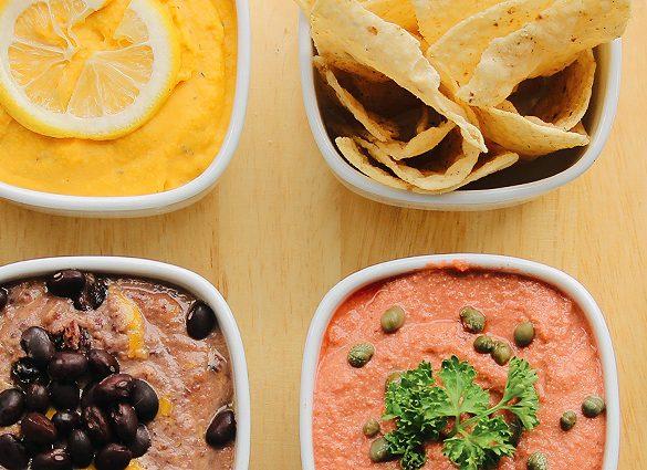 Inner Peace Comfort Food Dip Trio.