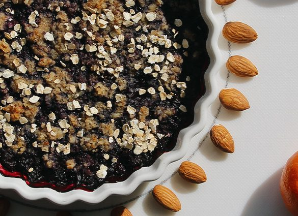 Inner Peace Berry Crumble Streusel.